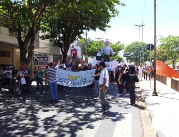 Protestos da Educação nas ruas e na Câmara Municipal