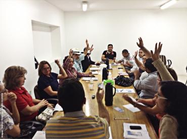 Reunião conjunta dos Conselhos Municipais